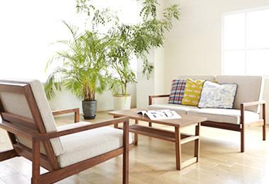 オーダーメイド家具で、機能的な空間を